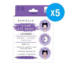 Danielle: Steam Masks - Lavender (5 Pack)