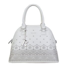 Bulaggi Collection Gail Teacosy Bag in White
