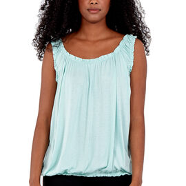 TAMSY Super Soft Vest One Size, ( Fits Size 8  to 18) - Mint