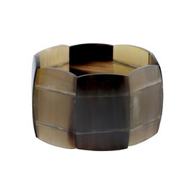 100% Genuine Buffalo Horn Stretchable Bracelet