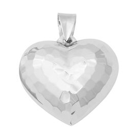 Heart Pendant in Sterling Silver 5.70 Grams