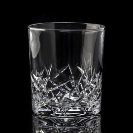 Set of 4 - Royal Worcester Ledbury Lead Crystal Tumbler (9.5x7.5cm)