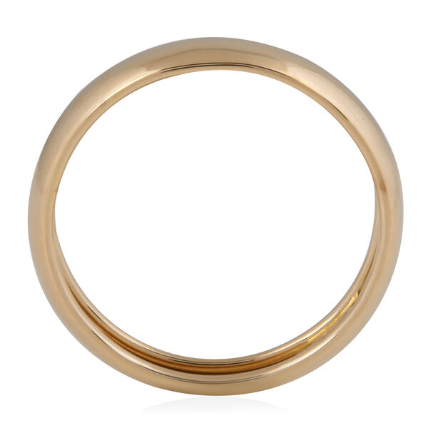 Italian Made 9K Yellow Gold Band Ring