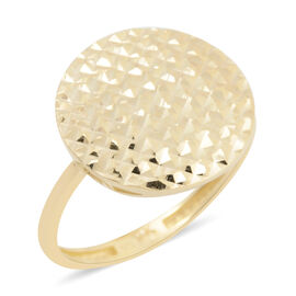 JCK Vegas Diamond Cut Cocktail Ring in 9K Gold 1.55 grams