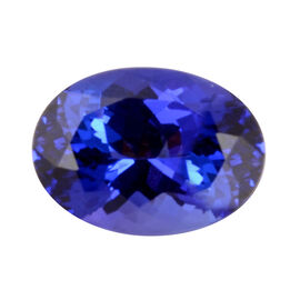 AAAA Tanzanite Oval 13.67X10.02X7.69 Faceted 7.63 Ct.