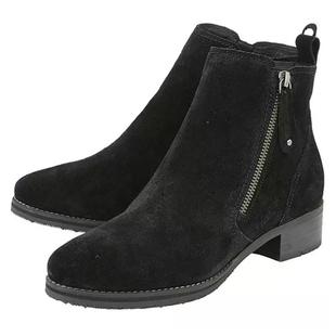 Lotus Stressless Black Suede Samara Ankle Boots (Size 3)