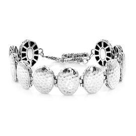 Royal Bali Collection - Sterling Silver Bracelet (Size 7.5-8), Silver wt 31.55 Gms