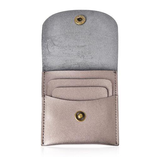 Reindeer Head Embellished Golden Colour Gifting Wallet, Alternative Christmas Cracker (Size 10X10 Cm)