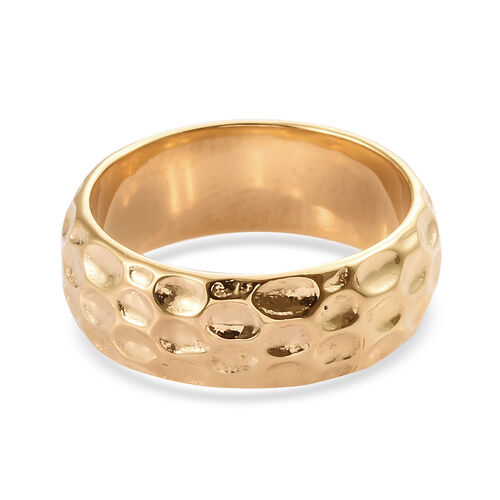 14K Gold Overlay Sterling Silver Ring
