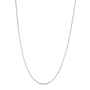 Sterling Silver Snake Chain (Size 24), Silver wt 6.40 Gms