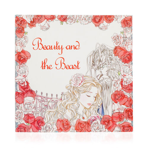 (Option-2) Set of 5 - 24 Colour Pencils with 4 Colouring Books (Beauty and the Beast, Secret Garden, Fairy Tales and Magical Dreams)