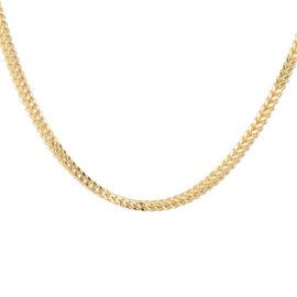 JCK Vegas Collection 9K Yellow Gold Spiga Necklace (Size 20), Gold wt 5.32 Gms