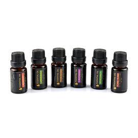 Set of 6 -  Essential Oils (Bergamot, Frankincense, Lavender, Ylang Ylang, Lemongrass, Rosemary)