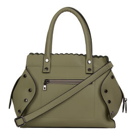 Bulaggi Collection  - Hope - Handbag With Removable and Ajustable Strap (28x24x08 cm) - Khaki Green
