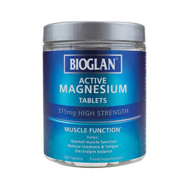 Bioglan: Active Magnesium Tablets