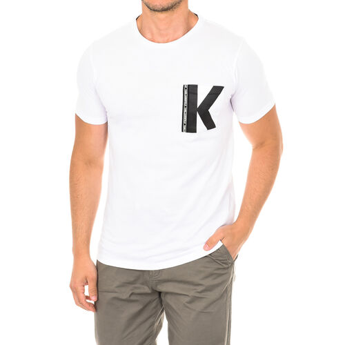 Karl Lagerfeld - Mens Logo T-Shirt Short Sleeve (Size S) - White