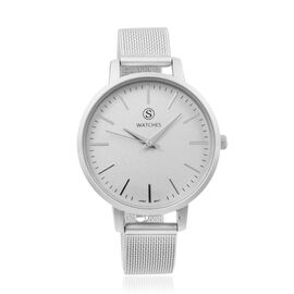 STRADA Japanese Movement Water Resistant Watch with Grey Strap
