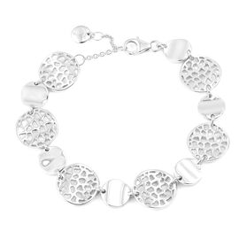 RACHEL GALLEY High Finish 8 Inch Bracelet in Sterling Silver