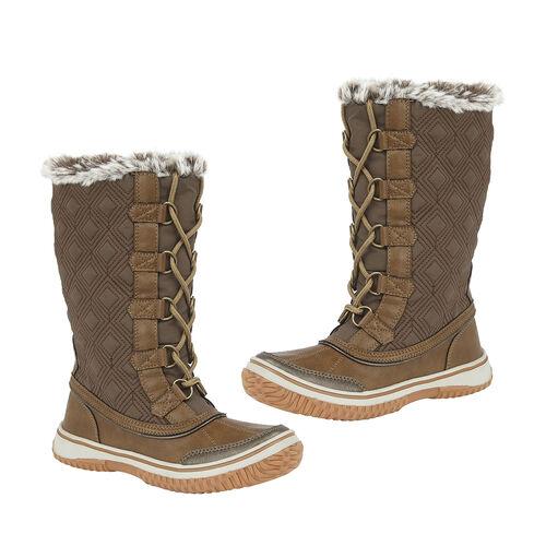 Lotus Tan Gillian Mid-Calf Boots (Size 4)
