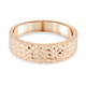 Close Out Deal 9K Yellow Gold Diamond Cut Band Ring Gold Wt 3.5 Grams