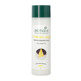 Biotique Bio Honey Cream Rejuvenating Bodywash 100% Soap Free - 190ml