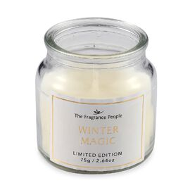 Jar Candle in Paper Box (H-7 Cm) - Winter Magic Fragrance