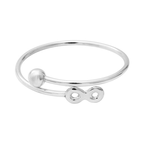 Adjustable Bangle in Sterling Silver 11.20 Grams 7 Inch
