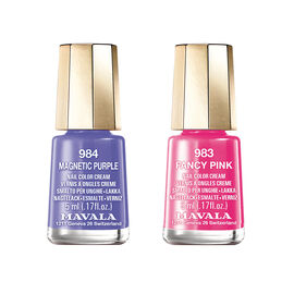 Mavala: Magnetic Purple - 984 & Fancy Pink - 983