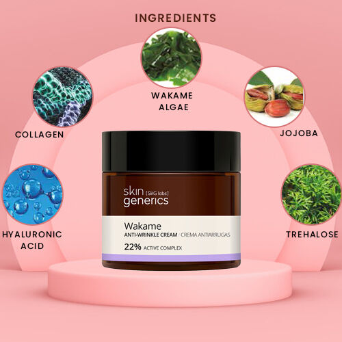 Skin Generics: Anti-Wrinkle Cream Wakame 23% Active Complex 50ml