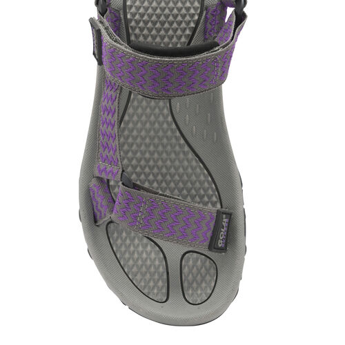 Gola Blaze Walking Sandals (Size 3) - Purple and Grey