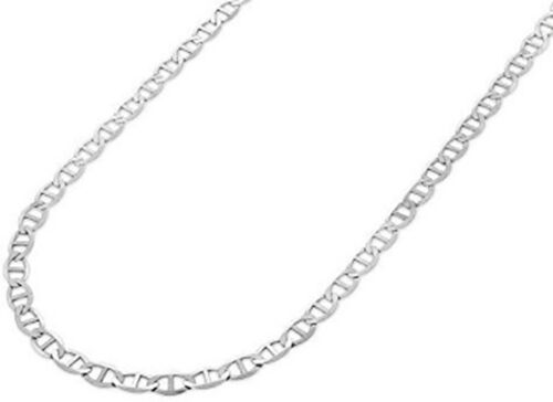 Close Out - Sterling Silver Mariner Link Chain (Size 18)