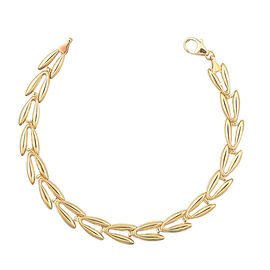 JCK Vegas Leaf Necklace in 9K Yellow Gold 10.15 Grams 20 Inch