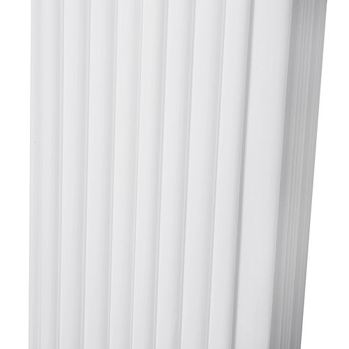 Minimalist Modern and Stylish Column Floor Lamp in Square Shape  (Size 120x14x14 Cm)