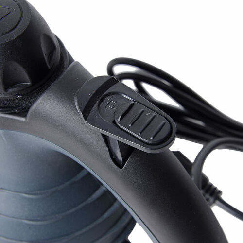 Multi-Purpose Handheld Pressurized Steam Cleaner with 9-Piece Accessories for Stain Removal, Carpets, Curtains, Bed Bug Control, Car Seats & UK Plug  Black Colour