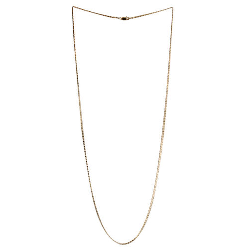 Yellow Gold Overlay Sterling Silver Mariner Chain (Size 30), Silver weight 4.90 Gram