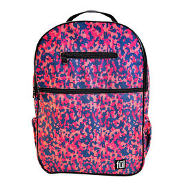 FUL Accra Camo Laptop Backpack (Size 43x29x12 cm) - Pink