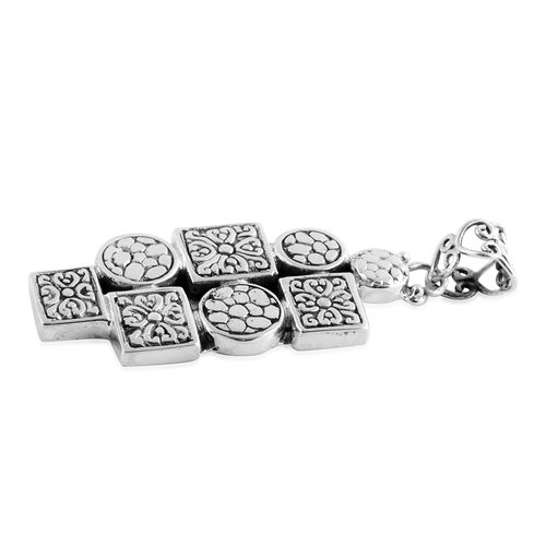 Artisan Crafted - Sterling Silver Pendant, Silver wt 10.80 Gms