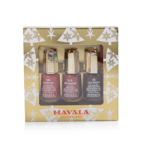 Mavala: Gold Trio - Moscow, Red Diamond & Las Vegas - 5ML