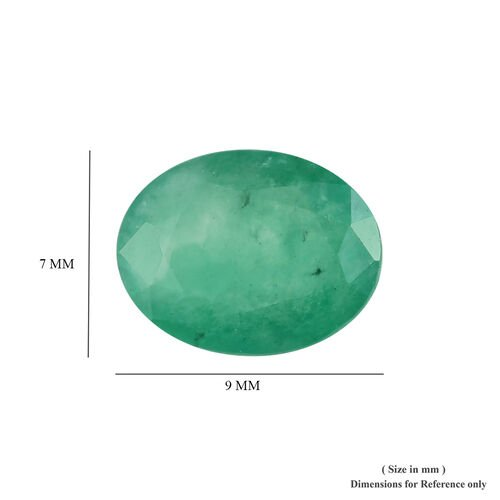 AA Emerald Sagota Oval 9x7 Faceted 1.50 Cts