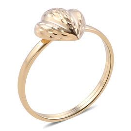 Royal Bali Collection 9K Yellow Gold Fancy Cut Ring