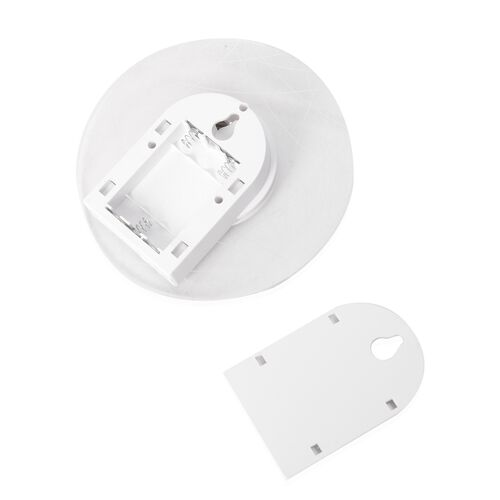 (Option 1) Home Decor- White 3D Acrylic Motion Sensor Night Light (Voltage-4.5v, Watt -2W)