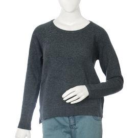 80% Wool Eclipse Melange Colour Top (Size S, 52.3x63.5cm)