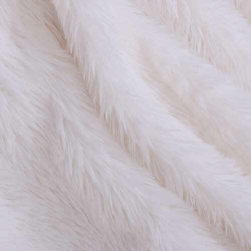 Supersoft High Quality Faux Fur Sherpa Blanket (150x200cm) - White