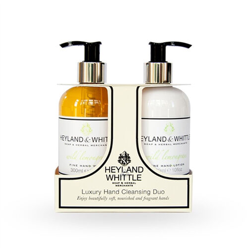 Heyland & Whittle: Olive & Fig Hand Wash & Hand Lotion