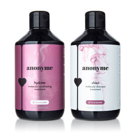 Anonyme: Clean & Hydrate Duo (Molecular Shampoo - 500ml & Conditioner - 500ml) La Vie Est Belle