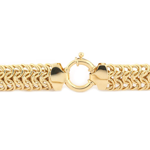 LIMITED EDITION - Italian Made - 9K Yellow Gold Collegamento Necklace (Size 20), Gold wt 37.07 Gms (Gold Wt 1.2 Troy Ounce)