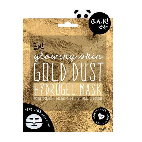 OH K-  Snail Sheet Mask, Black Sesame Hydrogel Mask & Gold Dust Hydrogel Mask 25ml