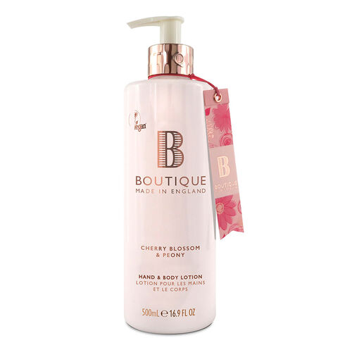 Boutique: Cherry Blossom & Peony Hand & Body Lotion - 500ml