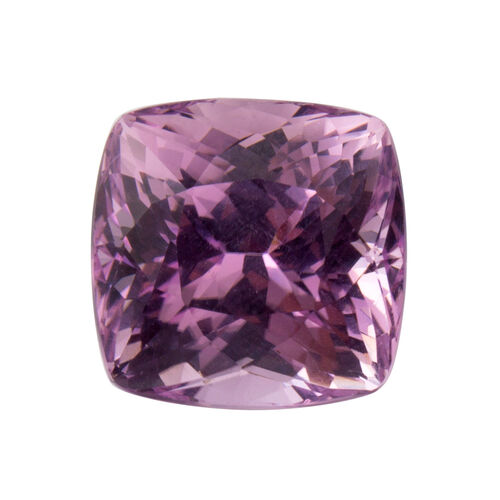 Kunzite (Cushion 14x13.5 Faceted 3A) 15.500 Cts