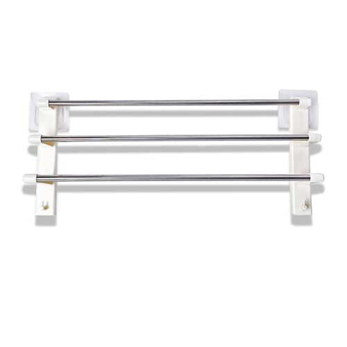 Three Layer Towel Hanger (Size 62x16x29 Cm) - Cream